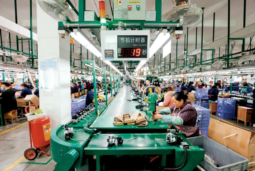 中美貿易糾紛升温,不少在內地設廠港商或受影響。