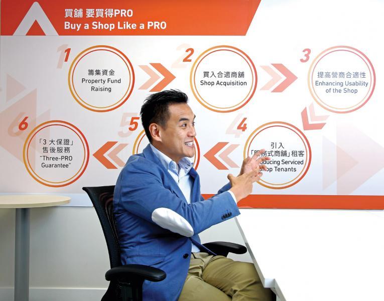 盛匯商舖基金創辦人及行政總裁李根興。