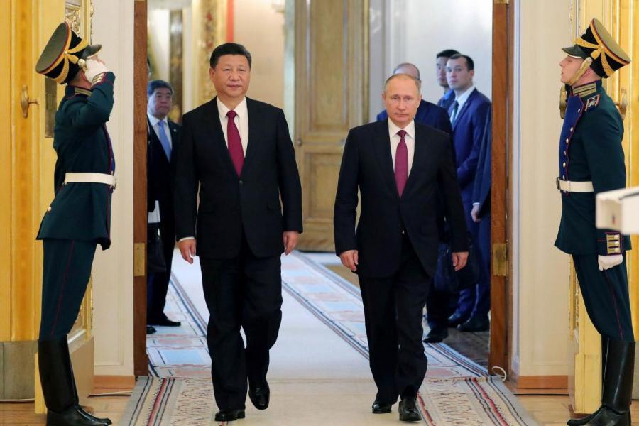 習近平將國事訪問俄羅斯,與普京進行會面。
