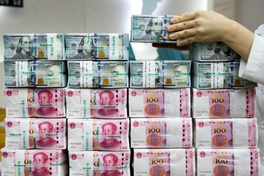 人民幣兌美元匯價跌穿七算,貨幣戰山雨欲來。