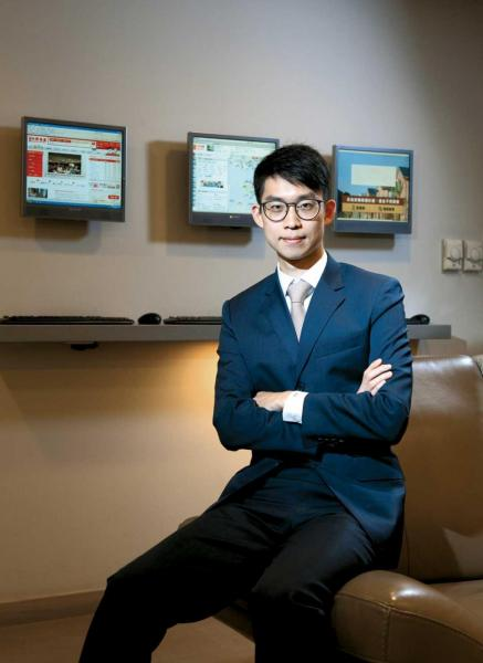 中原數據科技董事兼主席助理施俊嶸。