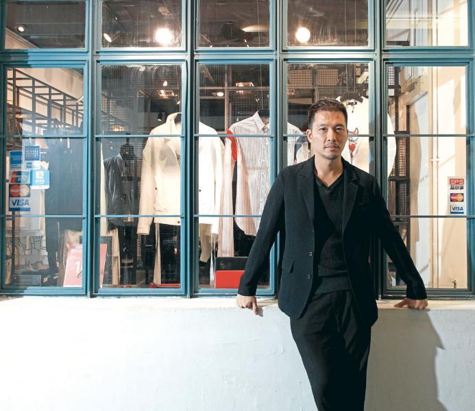 時裝設計師HARRISON WONG。
