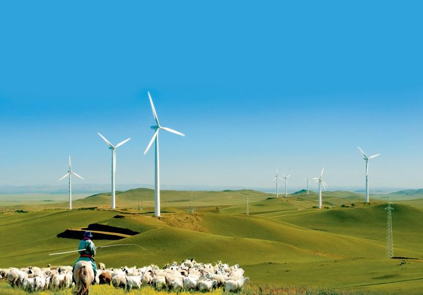 內蒙古農牧業資源豐富,現有耕地1.37億畝。