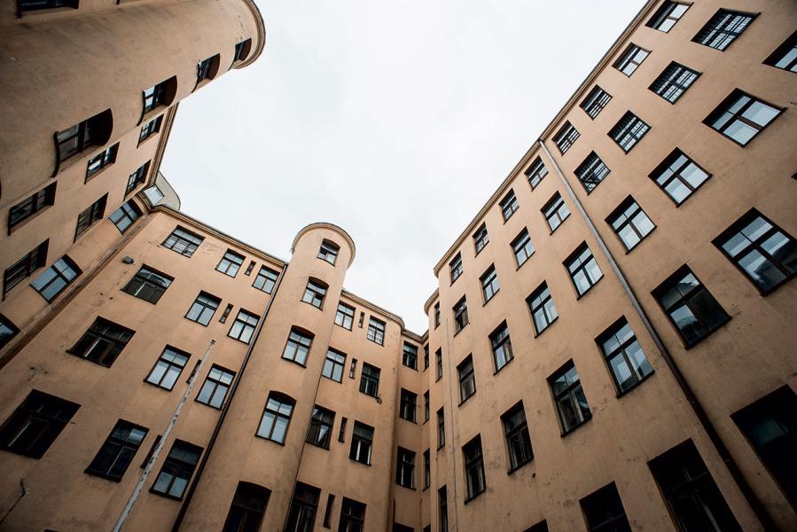 前KGB大樓內部,一般遊客無法進入,只有參加導覽團才可有機會看到。