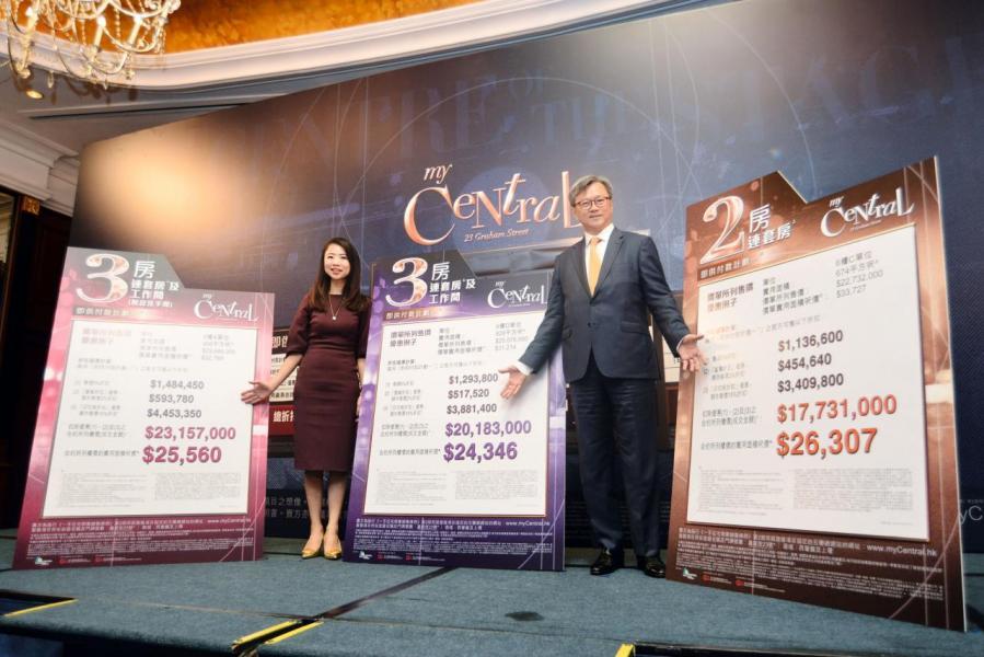 五大發展商首3季銷售成績以長實居首,有望成為全年賣樓王。