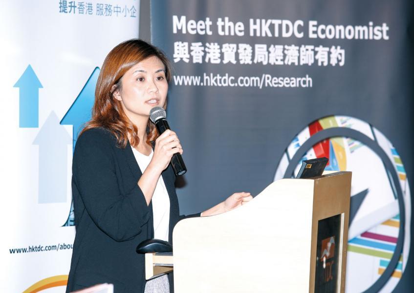 香港出口信用保險局業務發展部高級經理關月儀。