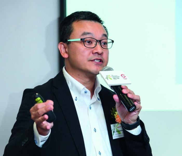 香港O2O電子商務總會總監(國際事務部)梁健雄。