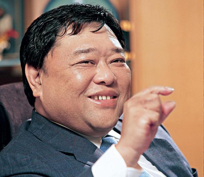 遠東發展主席邱達昌。