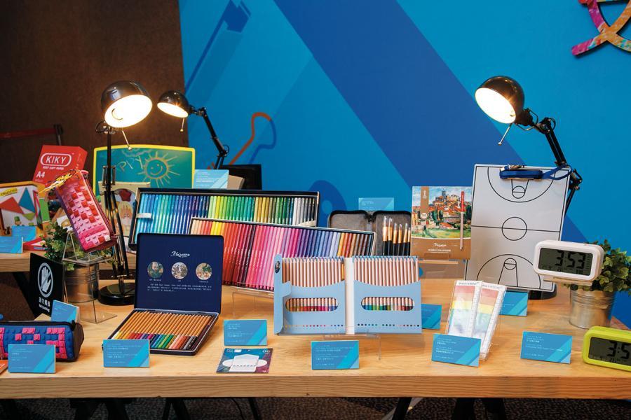 於上月舉行的貿發局文具展當中,展出了眾多精品化的文具產品。