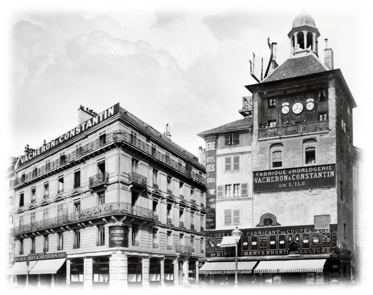 1843年,品牌設於日內瓦市中心Tour de I'lle的總部。