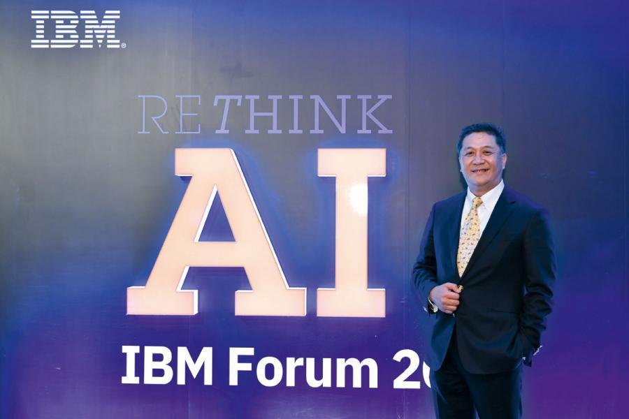IBM香港區總經理魏已倡。
