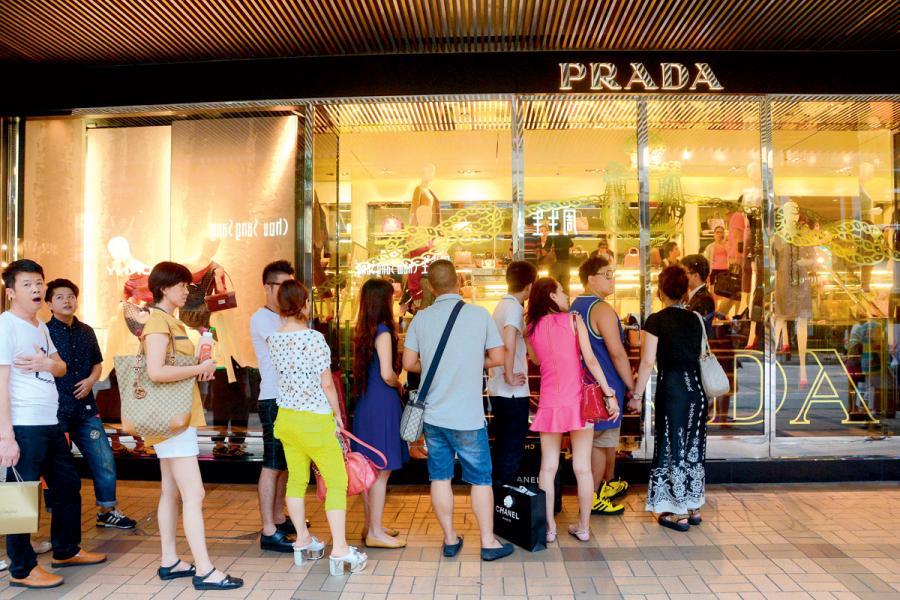 自由行消費多寡是影響舖市升跌因素之一。