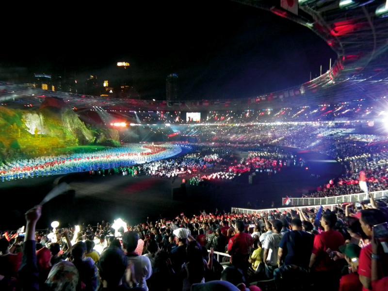 今年2月舉行的南韓平昌冬奧會。