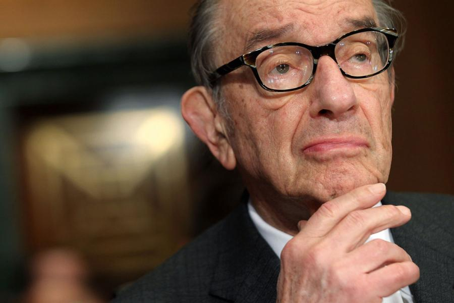 美聯儲前主席格林斯潘擔憂比特幣將變得一文不值。
