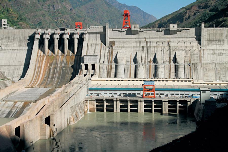 水力亦是重要的清潔能源。
