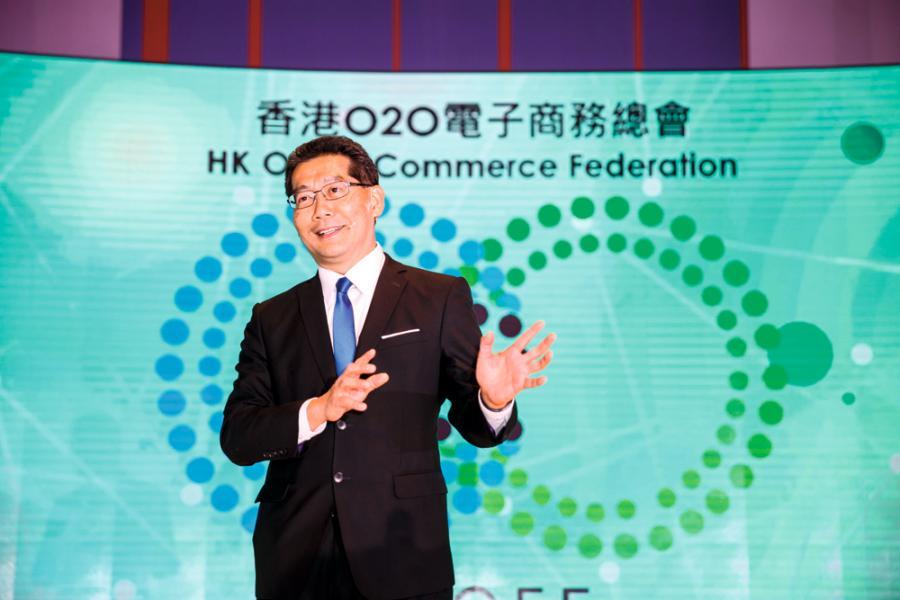 商務及經濟發展局局長蘇錦樑指出,跨境電商將會成為一條非常重要的空中絲綢之路,優勢互補。