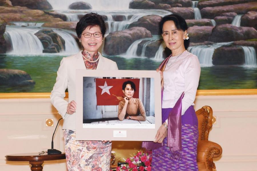 林鄭外訪頻仍,當中包括三個東盟國家,更是首位訪問緬甸的特首。