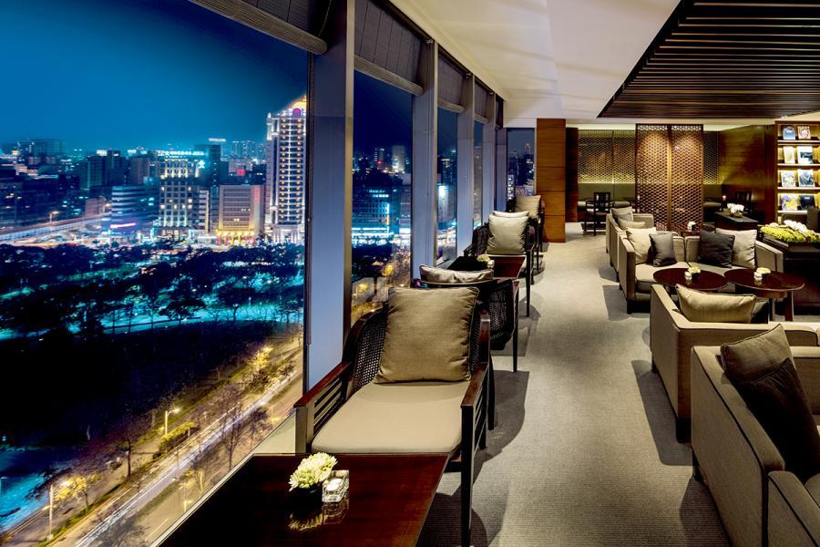 台北晶華酒店的「大班」景緻。