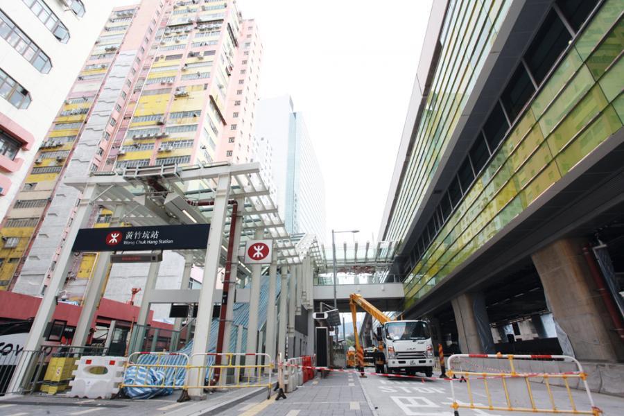 港鐵通車,帶旺南區的物業市場。