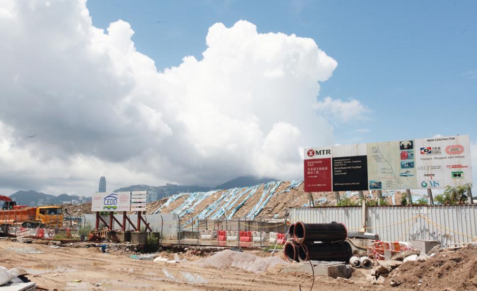 第3季最矚目的項目為長沙灣臨海住宅地。