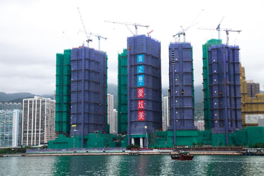 愛炫美為整個海之戀項目的前4幢,戶戶可望海。