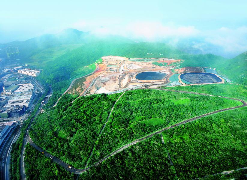 2015年,煤氣公司計劃於將軍澳新界東南堆填區進行有關建造工程環保項目。預計每年可減少排放56,000 噸二氧化碳,相等於種植240 萬棵樹苗。