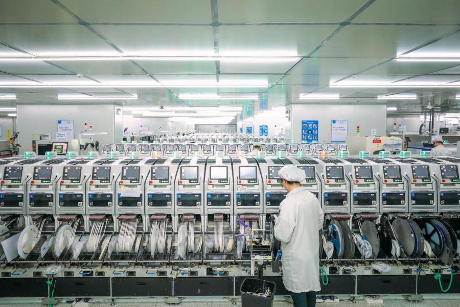 東莞市先進製造業、高技術製造業佔比成績耀眼,分別達到了百分之五十三點八和百分之四十點三。