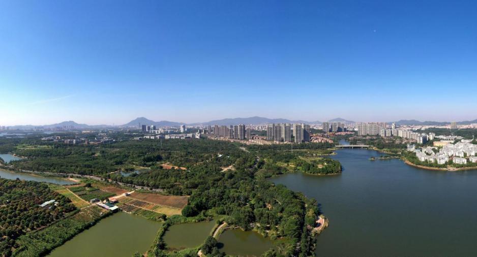 松山湖高新區東莞參與大灣區國際科技創新中心建設的核心。