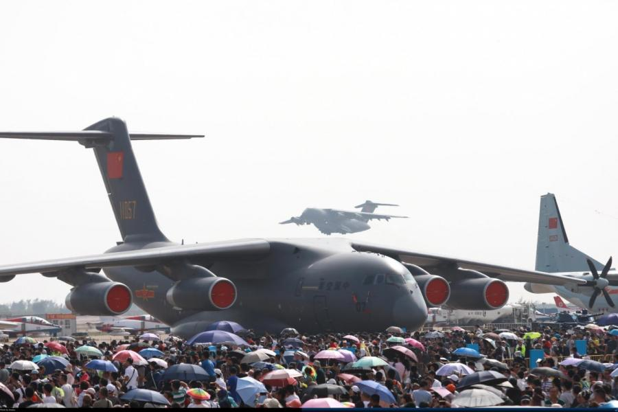 每兩年一次的航空展,為珠海航空產業開拓不少空間。
