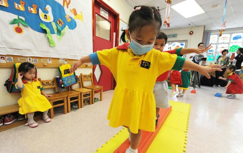 本港幼稚園收費高昂,為教育行業的重點戰場。