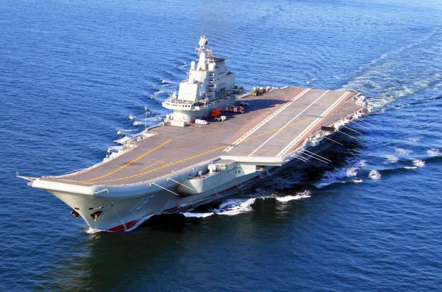 中國近年積極發展航母,更成功研發第一艘屬於中國的航母遼寧號。