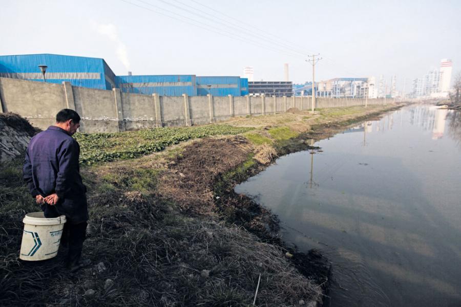 環保團體「綠色和平」月前的水質報告指,京津冀水質非常惡劣,天津地表水九成半不能飲。