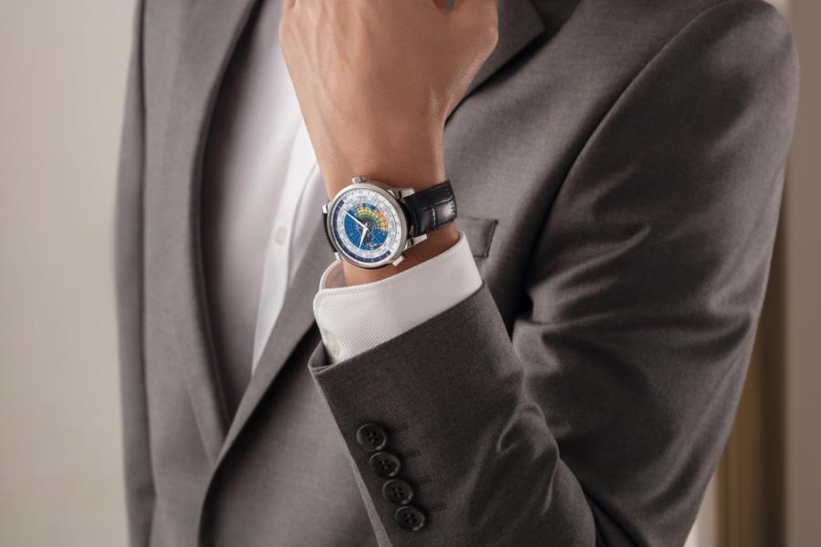 Montblanc Heritage Spirit 系列 Orbis Terrarum腕錶UNICEF亞洲特別版 HK$46,500 (限量500枚)