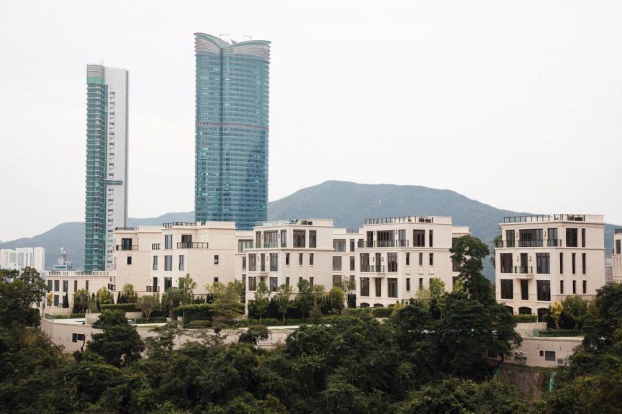 山頂超級豪宅Mount Nicholson去年售出分層王。