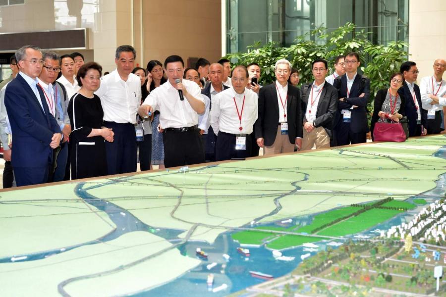 隨著大灣區發展,將有更多中資進駐本港。