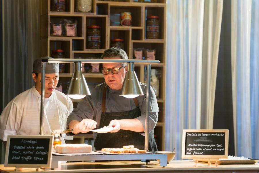「班妮」的行政副總廚Luca Pecorari將於市集內,親自炮製原汁原味的意式佳餚。