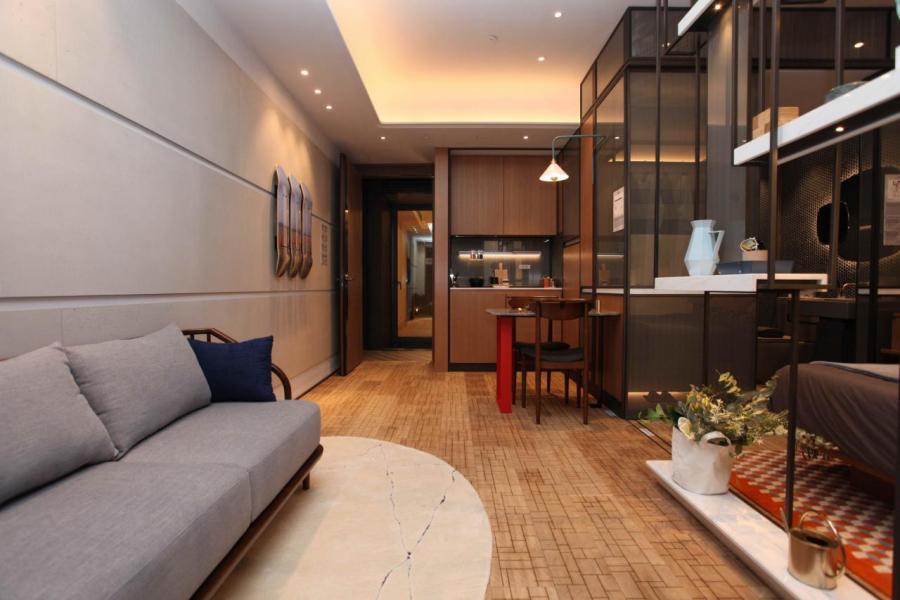 單位設計間隔四正,易於擺放家具。