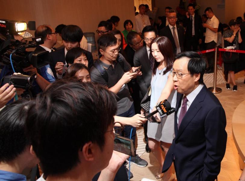 新地副董事總經理雷霆指,晉海以市價推售,入場價低於600萬元。