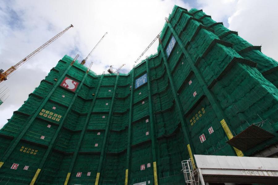 晉海由2幢大廈組成,涉及1,040伙。