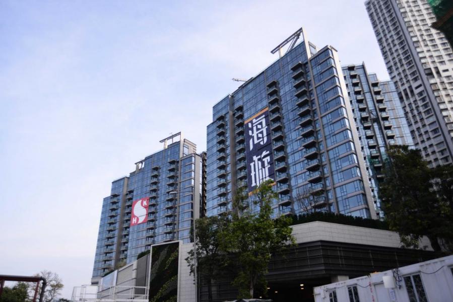 海璇標售的2個單位呎價高達5.8萬元,貴絕港島東分層戶。