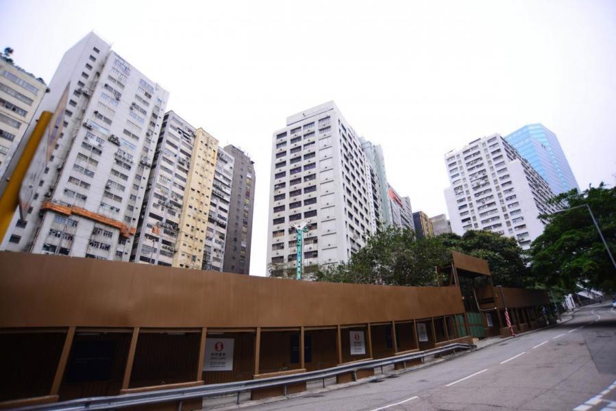 黃竹坑站通車後,住宅地皮價值大升。