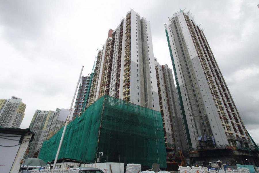 何文田常樂街項目料於明年3月落成。