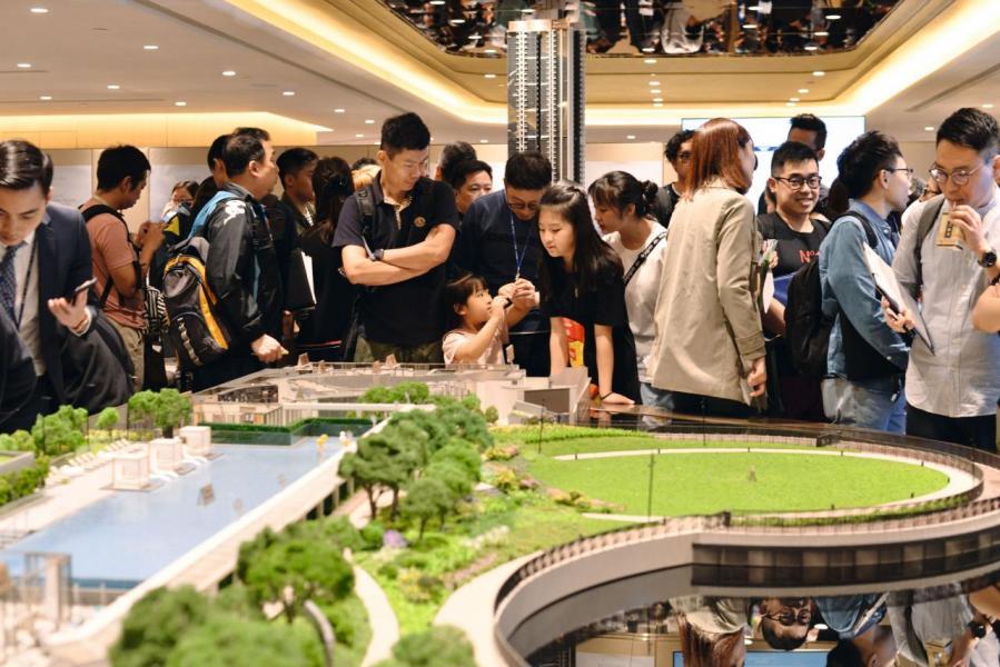 樓市氣氛熾熱,今年首4個月以來,樓價累積升幅已逾8.7%。