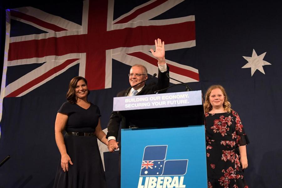 氣候問題成為今次澳洲選舉中選民最關心議題之一。