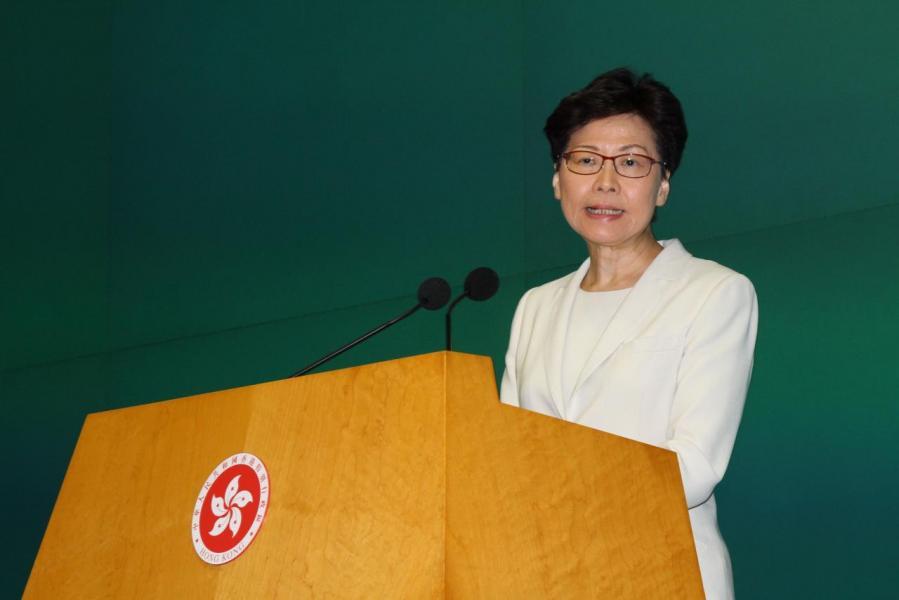 特首林鄭月娥提出的《逃犯條例》修訂引發連串風波,最近更有傳她會因病辭職,但已遭特首辦否認。