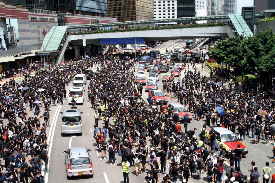 近期香港的政治爭拗,致使一二手樓市頓時冰封。