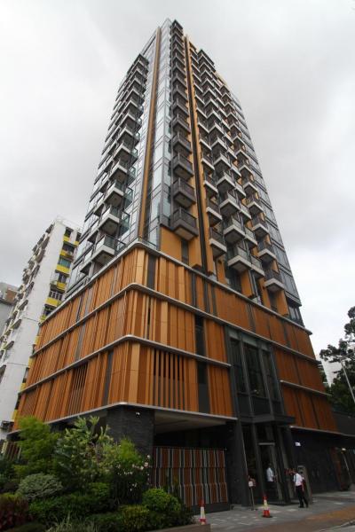 位處市區豪宅地段的晟林,提供中小型單位為主。
