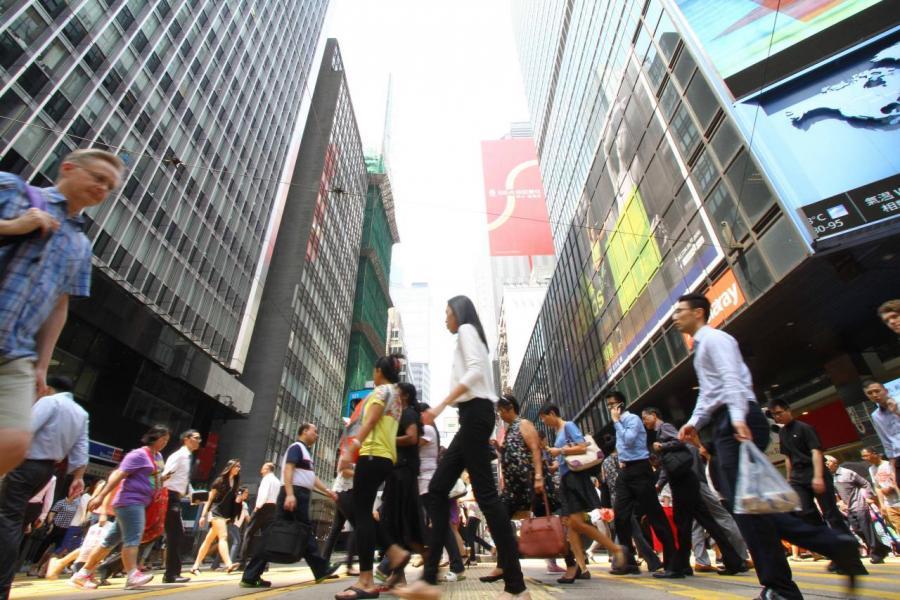 香港的競爭力持續下降,令人擔憂。