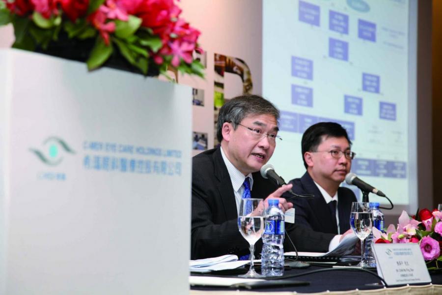 希瑪眼科認購表現超乎理想,是近年香港新股市場超購反應最熱烈股分之一。