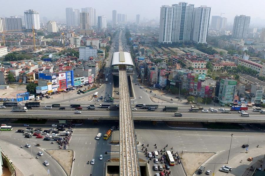 河內正積極發展基建,務求令城市革新。